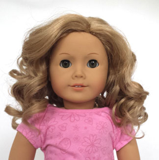 18 Inch Doll Wigs Shoes Hair Accessories Stockings Hanger